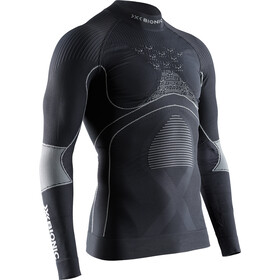 X-Bionic Energy Accumulator 4.0 T-shirt Manches longues Col roulé Homme, charcoal/pearl grey